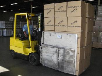 Our forklifts are squeeze clamp ready